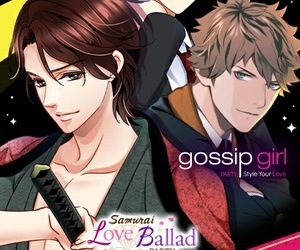 gossip girl, voltage, and otome game image