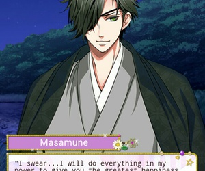 voltage, otome game, and masamune image