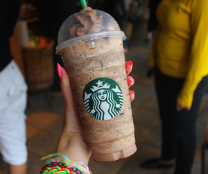 starbucks, yum, and tumblr image
