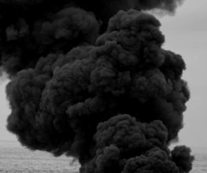 black, smoke, and dark image
