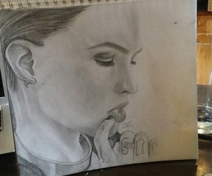 tattoo, ruby rose, and drawing image