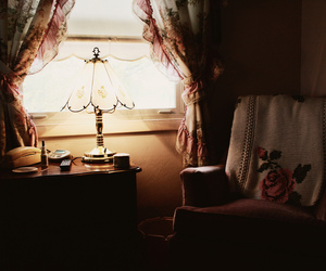 vintage, lamp, and photography image