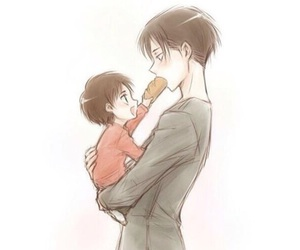 anime, snk, and eren jaeger image