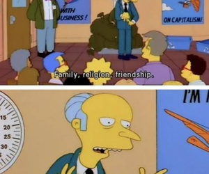 quote and simpsons image
