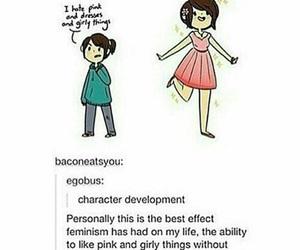 feminism, true, and tumblr post image