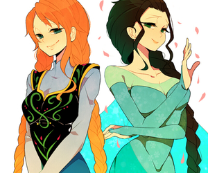 one piece, frozen, and nami image