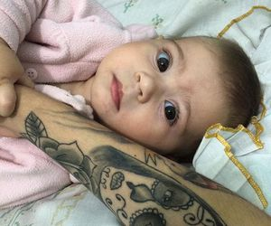 baby, cute, and tattoo image