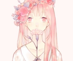 flowers, kawaii, and sweet image