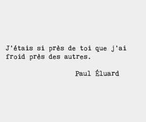 paul eluard, poetry, and quote image