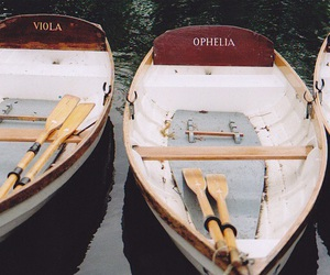 boat, ophelia, and viola image