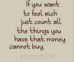 quotes, money, and rich image
