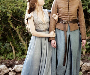 game of thrones, brienne of tarth, and margaery tyrell image