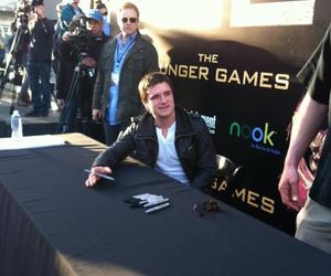 boy, josh, and hunger games image