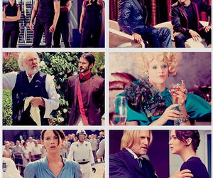 the hunger games, hunger games, and effie image