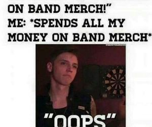 band merch, funny, and parents image