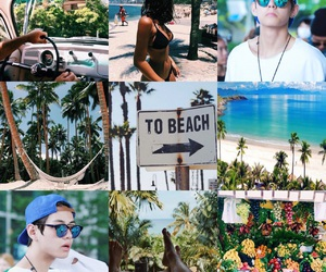beaches, FRUiTS, and moodboard image