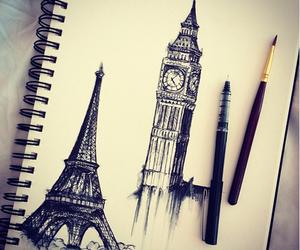 paris, london, and drawing image