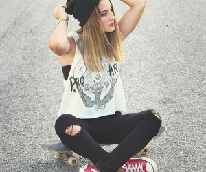 jeans, street, and blanco image