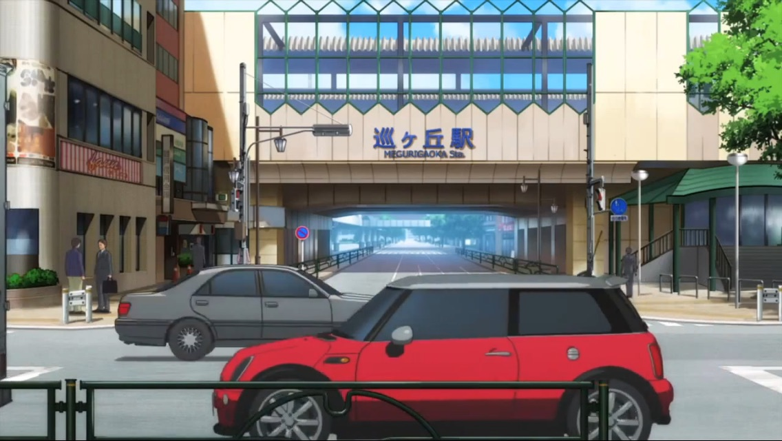 anime, anime scenery, and school live image