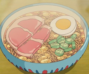 food, anime, and gif image