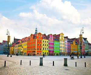 city, Poland, and wroclaw image
