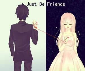vocaloid, just be friends, and love image