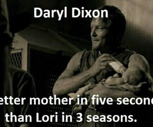 baby, daryl, and mother image