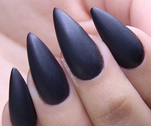 black nails, style, and claws image