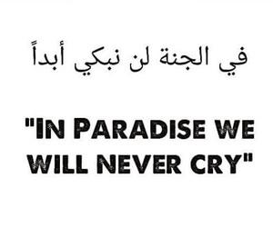 paradise, sadness, and won'tcry image