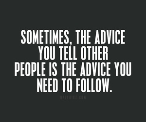 quotes, advice, and follow image