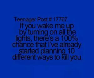 funny, light, and sleep image