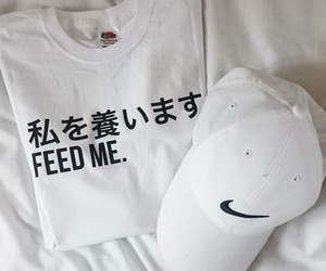 clothes, nike, and white image