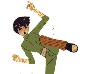 anime, lee, and konoha image