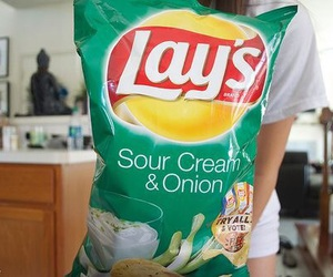 lays, food, and chips image