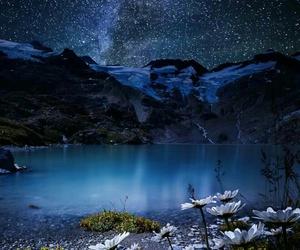 galaxy, nature, and night image