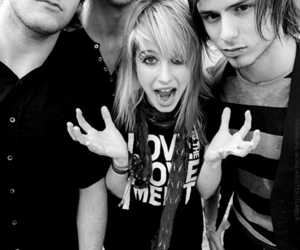 paramore black and white image