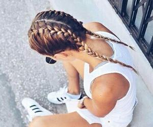 girl, hairs, and tumblr image
