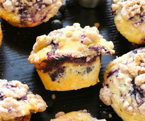 blueberry and muffin image