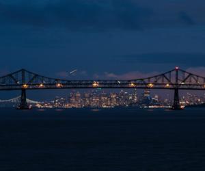 light, city, and tumblr image