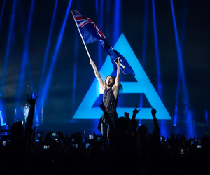 30 seconds to mars, flag, and jared leto image