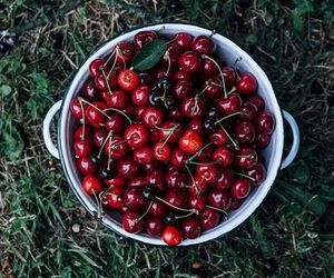 cherry, sweet, and fitness image