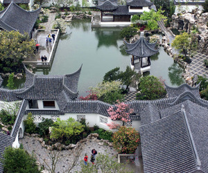 japan, city, and nature image