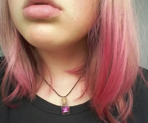 tumbrl, tumblrgirl, and pinkhair image