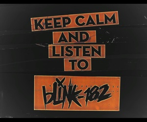 blink-182, california, and musica image