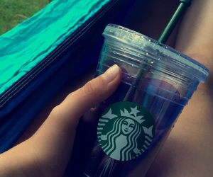 lovely, starbucks, and water image