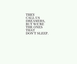 cant sleep, Dream, and dreamer image