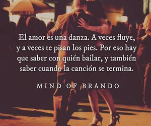 baile, mind of brando, and amor image