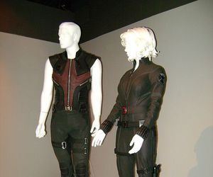 Avengers, black widow, and costumes image