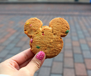 cookie, mickey mouse, and cute image