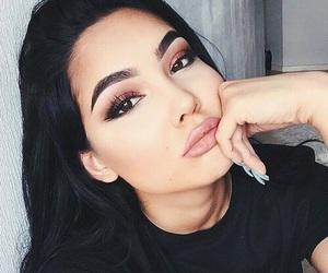 makeup, beauty, and nails image